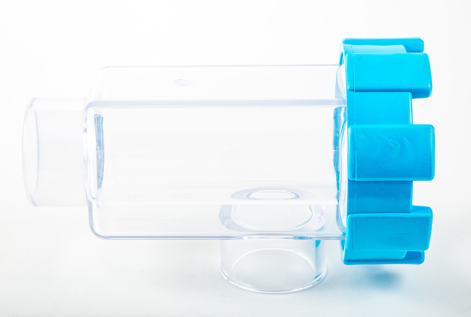AutoClear cell housing against a white background.