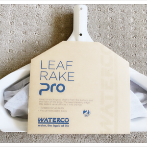 White Waterco premium pro leaf rake.