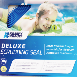 Deluxe scrubbing seal pleated seal in packaging.
