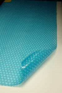 Daisy 250 micron Traditional Blue Pool Cover
