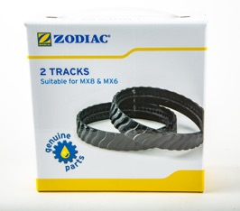 Zodiac MX8/ MX6 Tracks