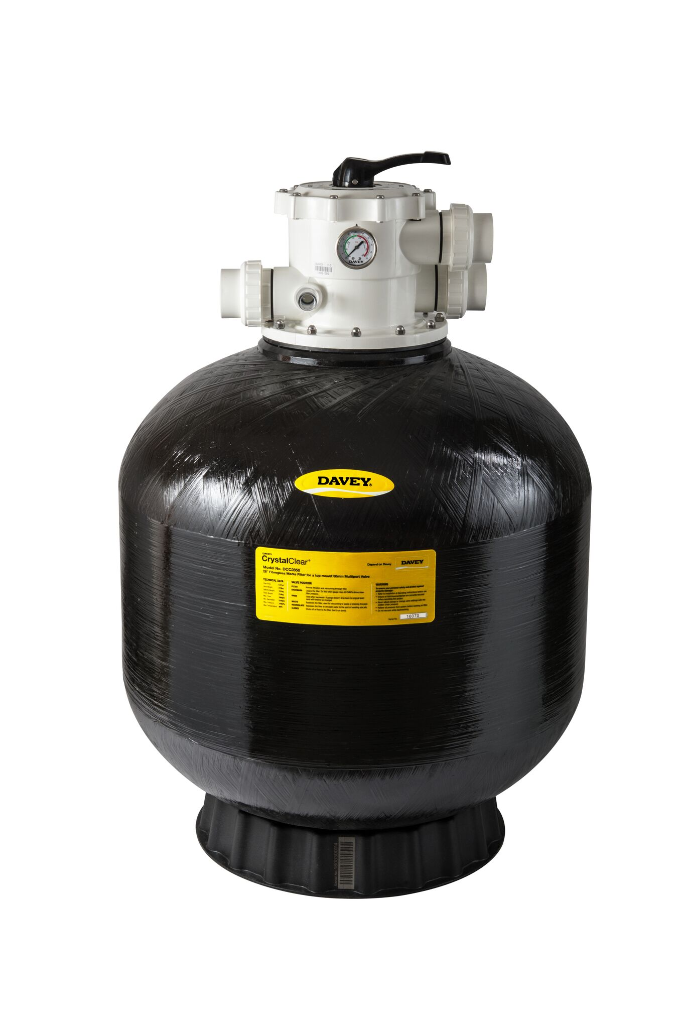 davey ccf 25 pool sand filter