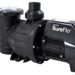 Davey SureFlo pool pump against a white background.