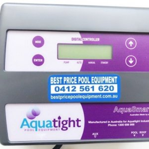 Aquatight solar controller.