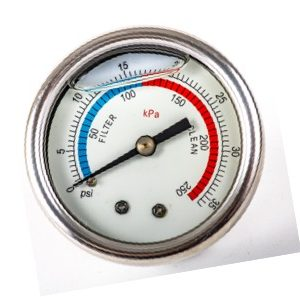 Pressure Gauge Rear Screw