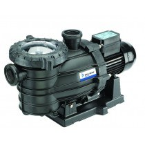 Black Onga SilentFlo pool pump against a white background.