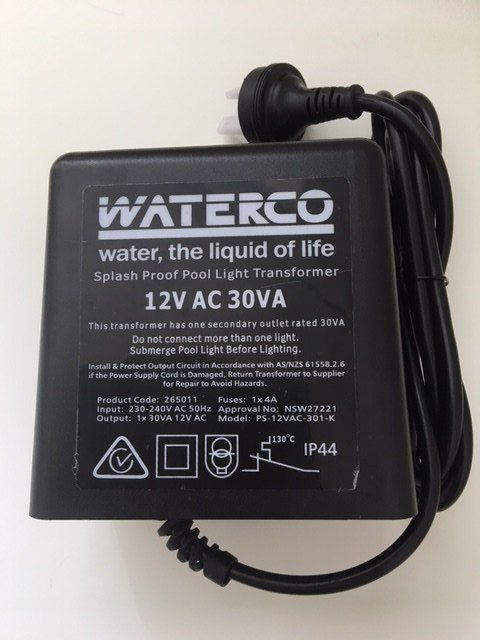 Led Transformer For New Waterco Mark 5 Light Best Price