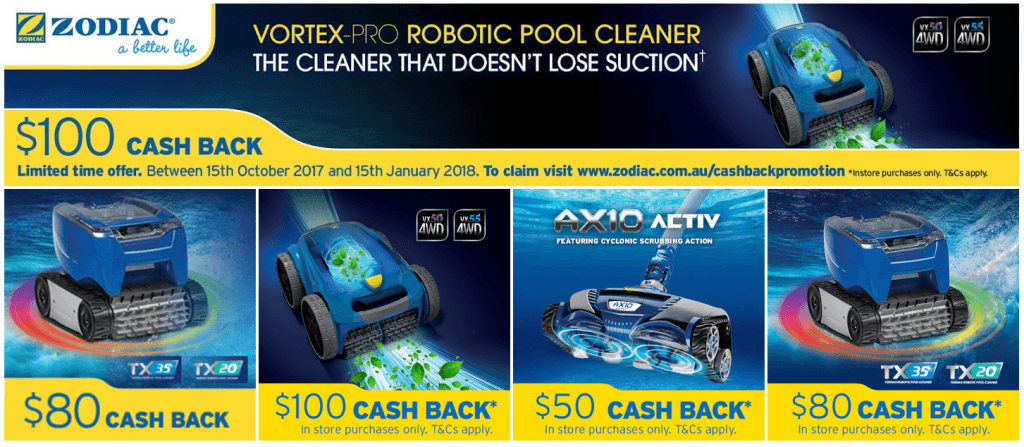 Zodiac Cleaner Promotion 2017 Best Price Pool Equipment