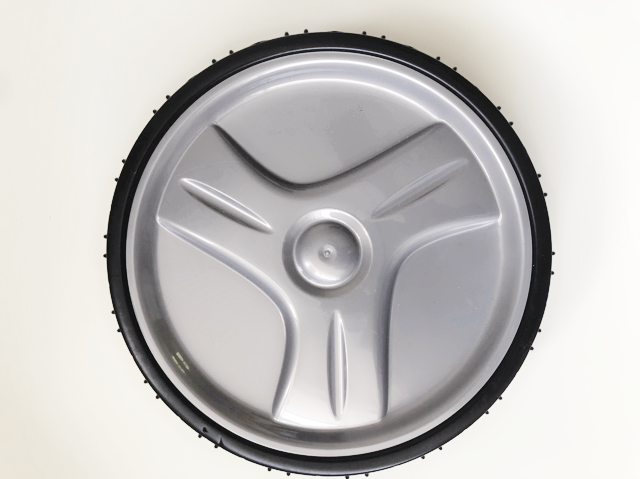 Zodiac V3 front wheel and tyre against a white background.
