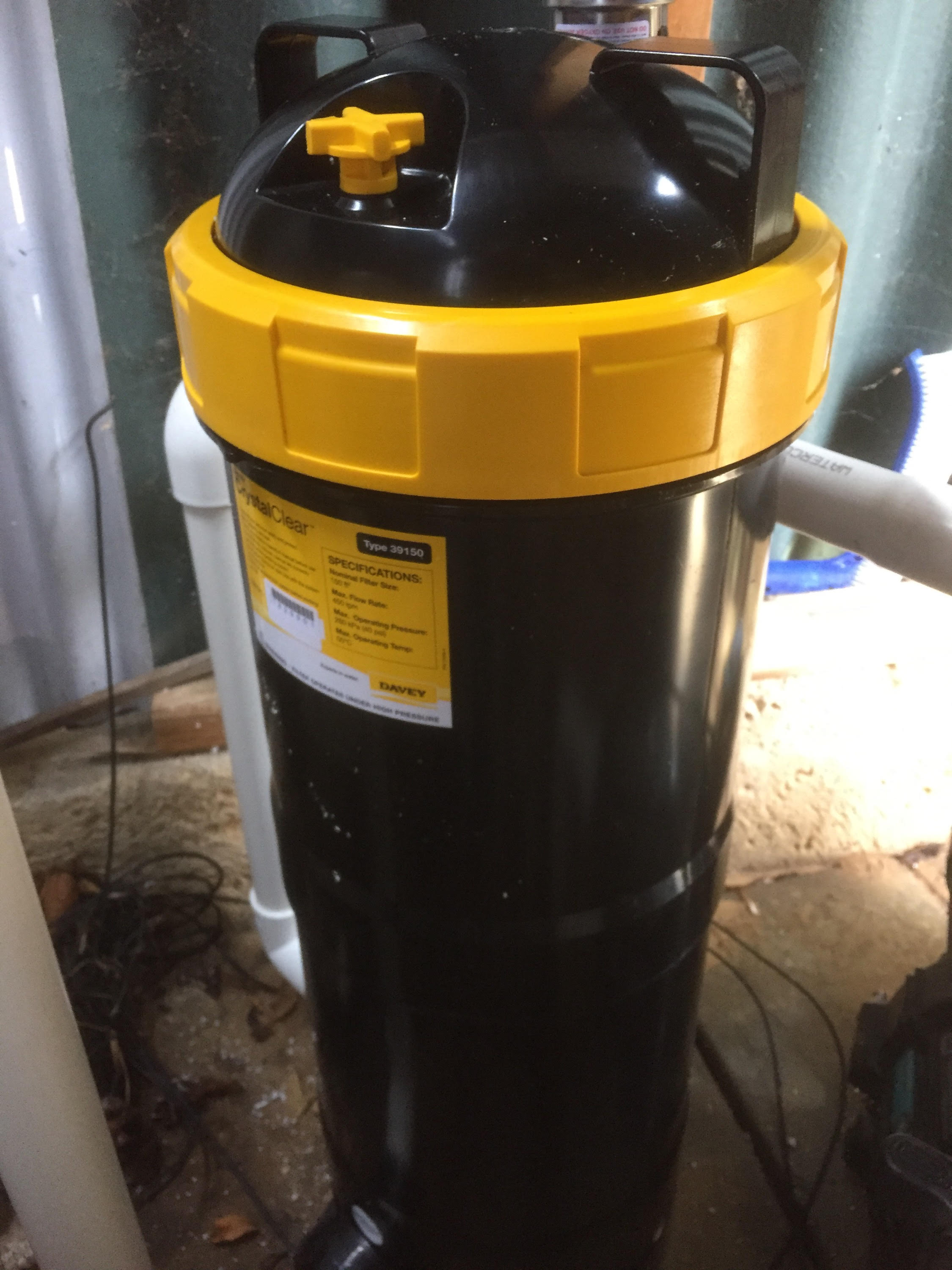 Installed Swimming Pool Cartridge Filter - Best Price Pool Equipment