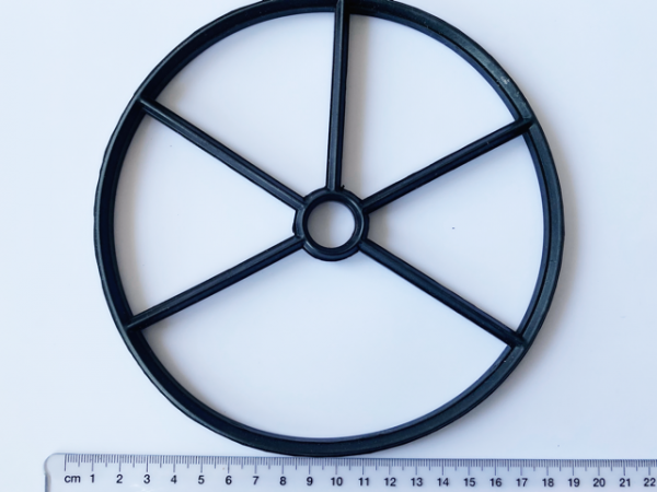 Waterco spider gasket against a white background.
