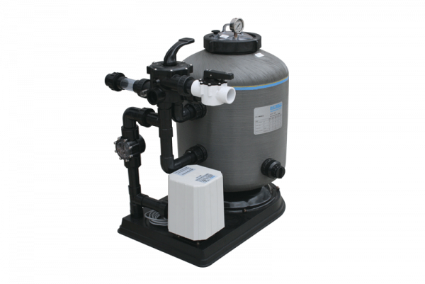 Waterco pool system set against a white background.